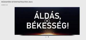 Rózsatéri istentiszteletek videói